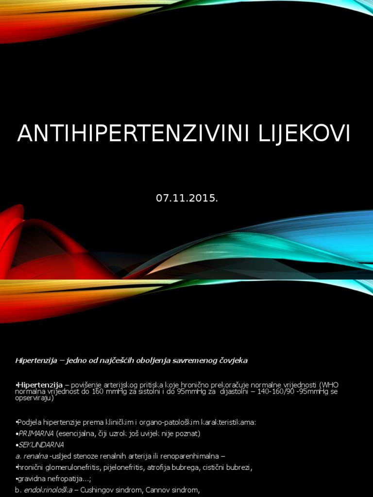 hipertenzija oboljenje lijek)