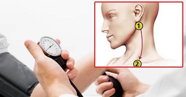 točka hipertenzija masažu