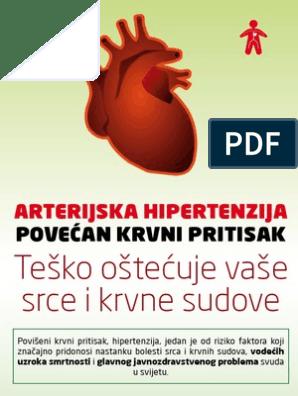 hipertenzija, ubrzani rad srca)