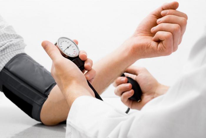 hipertenziju, mučninu