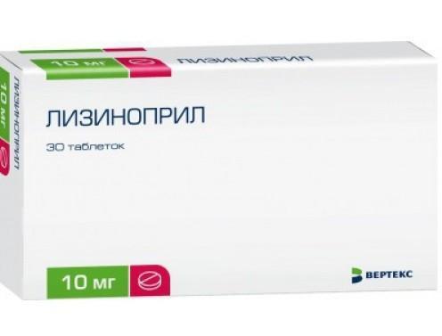 pripreme za hipertenziju lizinopril