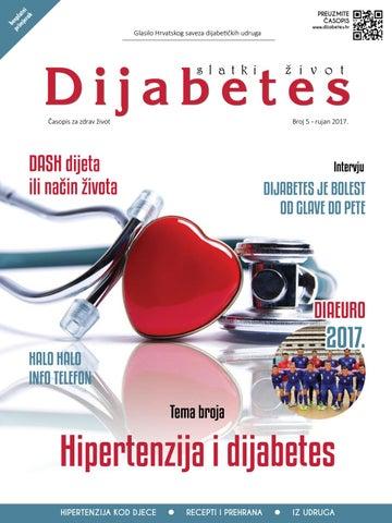 hipertenzija i dijabetes dijeta