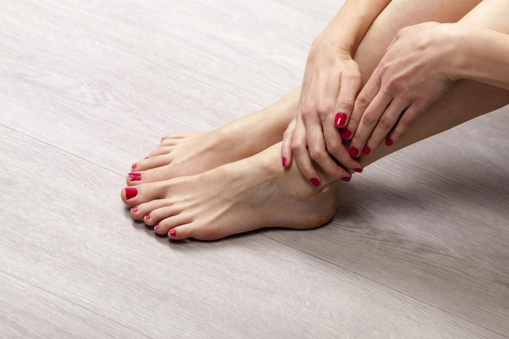 kupka stopala s hipertenzijom