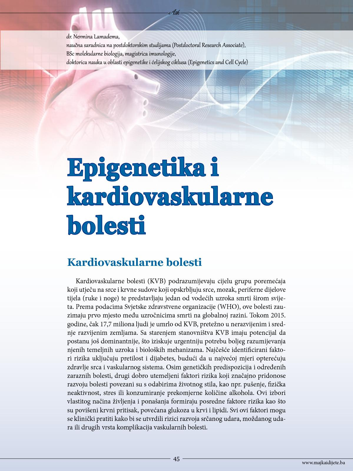 Kardiovaskularne bolesti | Hrvatski zavod za javno zdravstvo